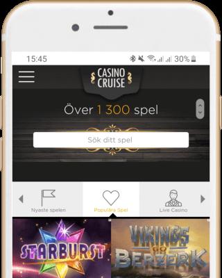 Casino Cruise i mobilen