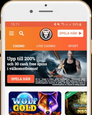 Leo Vegas Casino i mobilen