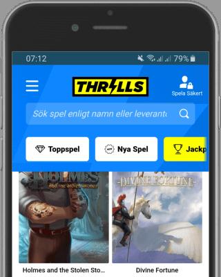 Thrills casino i mobilen