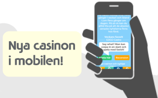 Nya casinon i mobilen