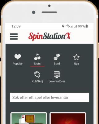 Spin Station Casino i mobilen