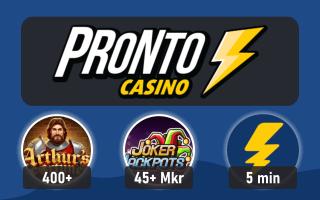 Spela på Pronto Casino